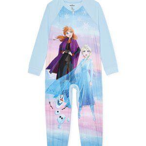 Frozen 2 Footless Sleeper Pajamas